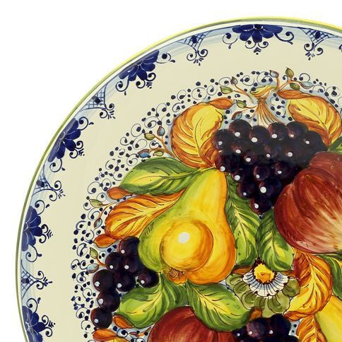 FRUTTA: Large wall plate centerpiece (24D)