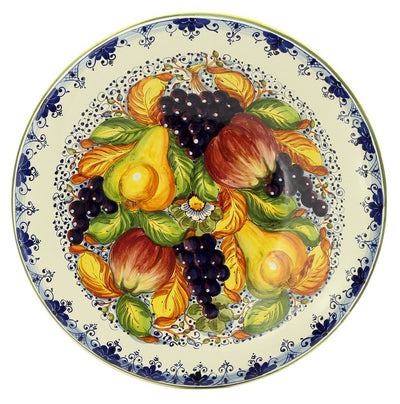 FRUTTA: Large wall plate centerpiece (22D)