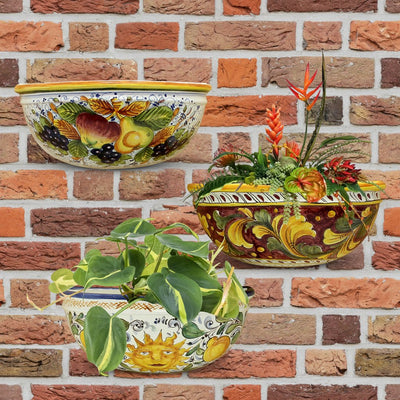 TOSCANA: Wall Pocket Planter Sole Design