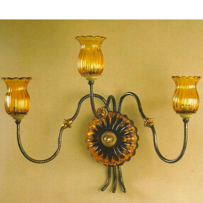 ALBA LAMP: Wall Light Sconce G9 Bulb Oxidized Copper Oro
