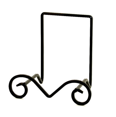 METAL STAND: Square Iron Stand BLACK for Large Pasta Salad Serving Bowls