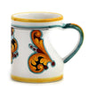 DERUTA VARIO ROSSO: The Love Mug with Heart Shaped Handle