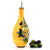 BUCCIATO OLIVO UVA: Olive Oil Flatten Bottle with OLIO script