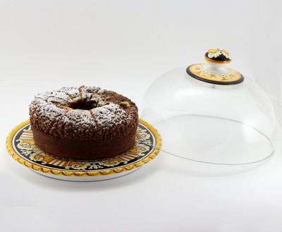DERUTA VARIO: Domed Cake Cheese Platter