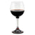 DERUTA STEMWARE: Burgundy Balloon Glass on Hand Painted Ceramic Base RINASCIMENTO Design