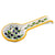 DERUTA: Spoon rest OLIVE (also wall hung)