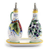 DERUTA: Oil and Vinegar bottles on tray