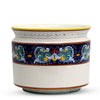 DERUTA BELLA: Cylindrical Cover Pot Vario Fiore Design - Cachepot Planter (Large)