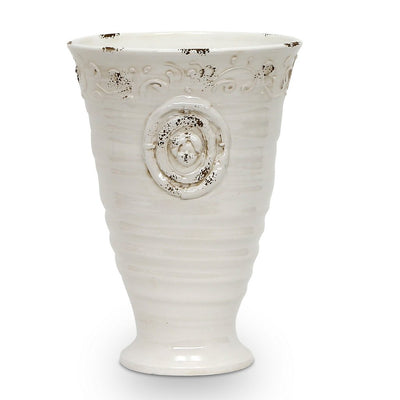 SCAVO RIGATA: Footed Cup Vase
