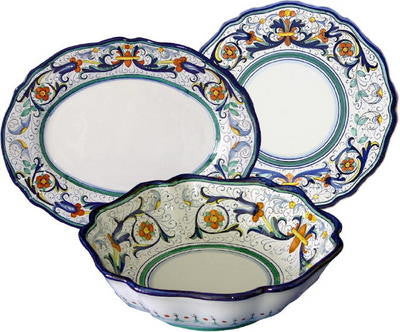 VECCHIA DERUTA: 3 Pcs Serving Set