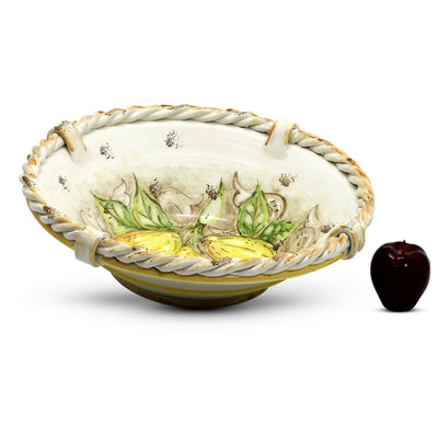 POSITANO TRECCIA: Large Bowl Centerpiece