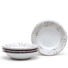 NATURA: Pasta/Soup Rim Bowl Plate (Bundle of 4 Pcs) [R]