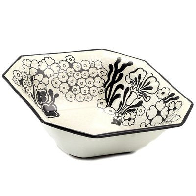 NERONE: Octagonal bowl (Large)