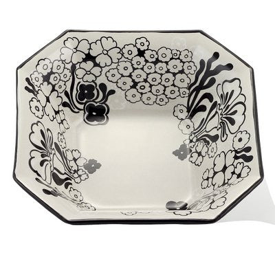 NERONE: Octagonal bowl (Large) - (Premium Masterpiece by Francesca Niccacci)