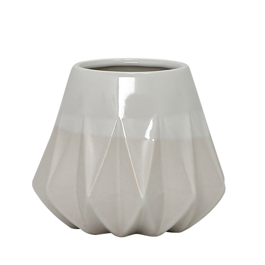MONDIAL CANDLES: Teco Design Ceramic Container Candle WHITE