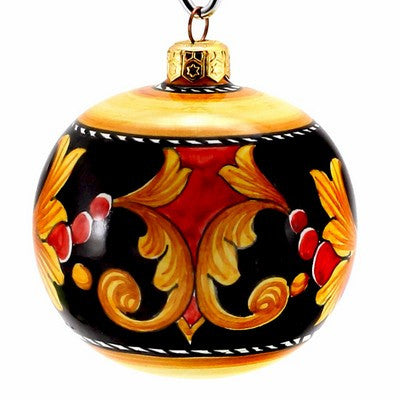 CHRISTMAS ORNAMENT: Deruta Vario Round Ball Large