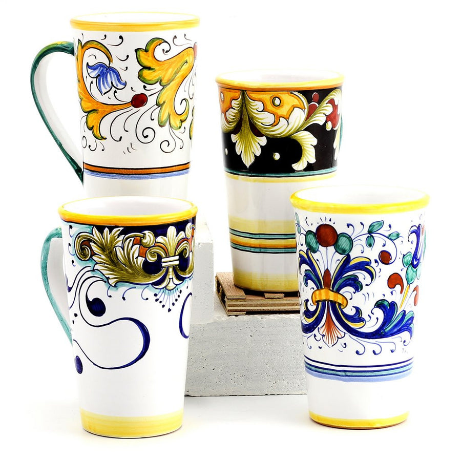DERUTA MUGS: Set of FOUR Mugs as shown