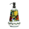 DERUTA FRUTTA: Liquid Soap/Lotion Dispenser with Chrome Pump (Large 26 OZ)