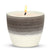 MONDIAL CANDLES: Graffito Rustico Espresso Cream Ceramic Candle