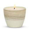 MONDIAL CANDLES: Graffito Rustico Vanilla Cream Ceramic Candle