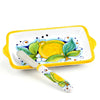LIMONI: Butter Dish and Spreader SET