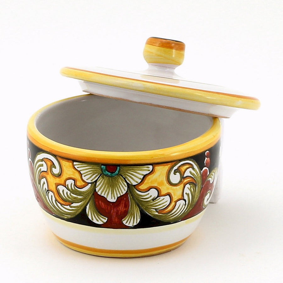 DERUTA VARIO: Sugar Bowl with lid
