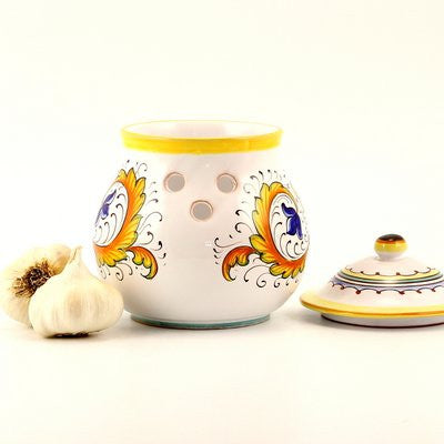 PERUGINO: Garlic Onion Jar Keeper (Large)