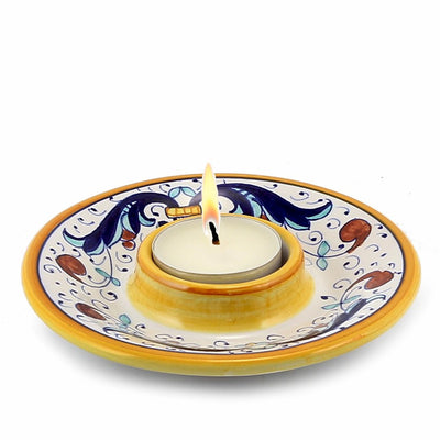 RICCO DERUTA: Deruta Tea Light Saucer