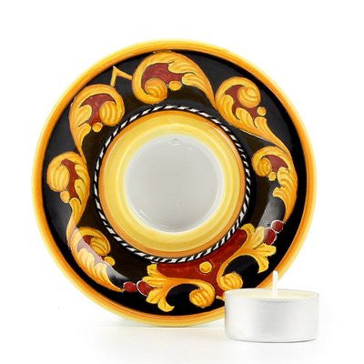 DERUTA VARIO: Deruta Tea Light Saucer