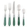 VIETRI: Aladdin Brilliant Green Five Piece Place Setting