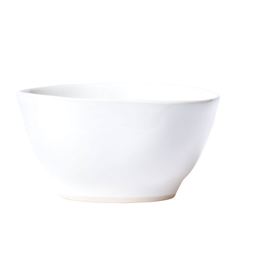 VIETRI: Aurora Snow Cereal Bowl