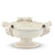 SCAVO JLENIA: Footed Bowl 3 Handles WHITE