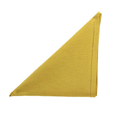 BUSATTI: Napkin Zodiaco (60% Linen and 40% Cotton) GOLD
