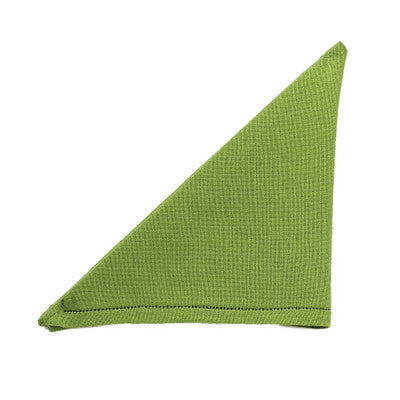 BUSATTI: Napkin Zodiaco (60% Linen and 40% Cotton) GREEN