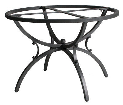 TABLE + IRON BASE: ALTAMURA Design