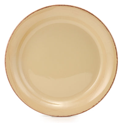 VECCHIA TOSCANA: Round Charger Sand Beige
