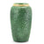 DOLFI BUTTON GREEN: Vase with hand applied buttons motif GREEN