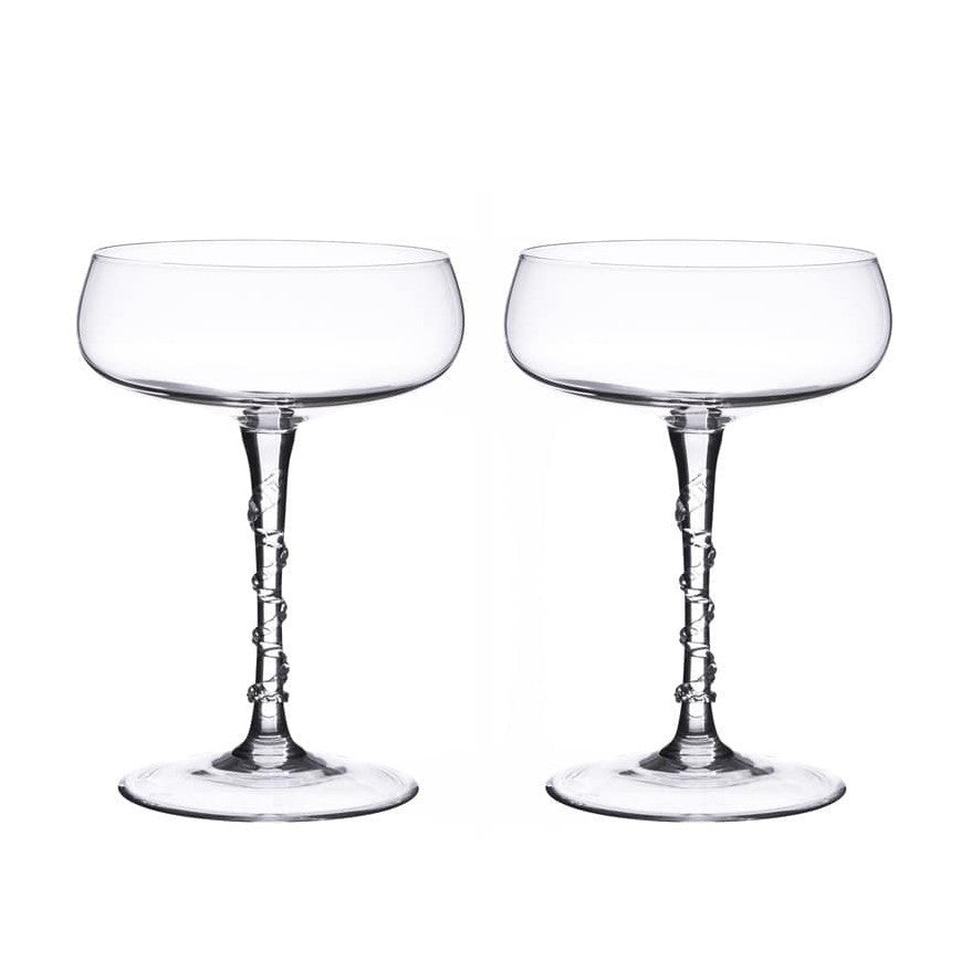 JULISKA: Amalia Champagne Coupe Set of TWO