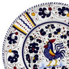 ORVIETO BLUE ROOSTER: Pre Pack Dinner Plate + Coupe Bowl + Mug