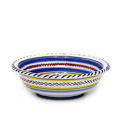 ORVIETO BLUE ROOSTER: Cereal Bowl