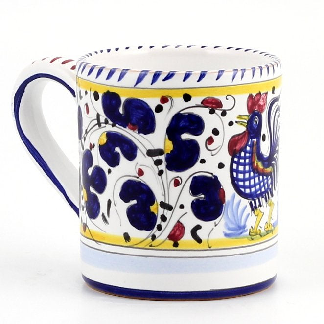 ORVIETO BLUE ROOSTER: 3 Pieces Place Setting