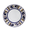ORVIETO BLUE ROOSTER: Rim Pasta Soup Bowl (White Center)