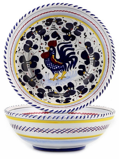 ORVIETO BLUE ROOSTER: Soup Pasta Coupe Bowl