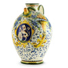 MAJOLICA: Medieval Brocca jug with CORNUCOPIA: design