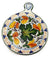 TOSCANA: Old Fashion Round Trivet Dec Caffagiolo