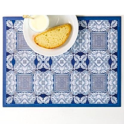 ITALIAN DREAM: Placemats + Coasters (Set of 4 ea) - Design CALTAGIRONE/B
