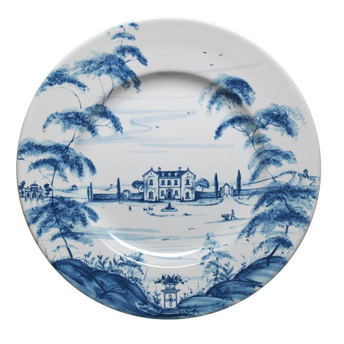 JULISKA: Country Estate Delft Blue Dinner Plate Main House