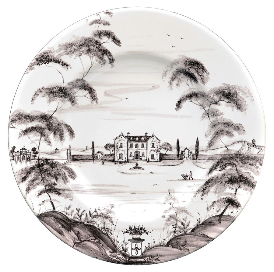 JULISKA: Country Estate Flint Dinner Plate Main House
