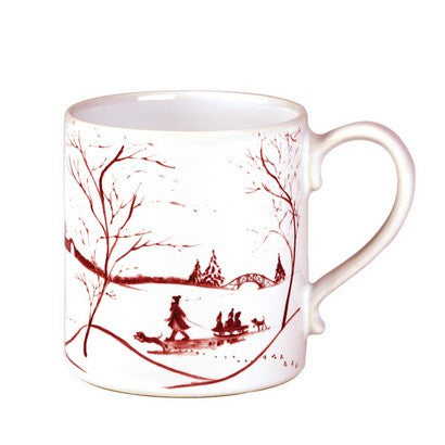 JULISKA: Country Estate Winter Frolic Ruby Mug