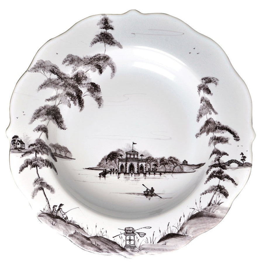 JULISKA: Country Estate Flint Pasta/Soup Bowl Boathouse